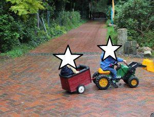 Kunterbunt Traktor