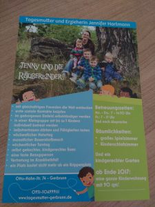 Plakat Räuberkinder